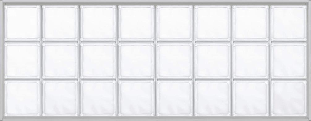 YKKAPアルミインテリア スクリーンパーティション[採光ユニット] アクリルブロックFIX(アルミ枠) 呼称幅131(幅1312mm)ブロック横8列:[幅1312mm×高564mm]【YKK】【室内インテリア】【サッシ】【パーテーション】【パーテイション】【ガラスブロック】【間仕切】【145ミ