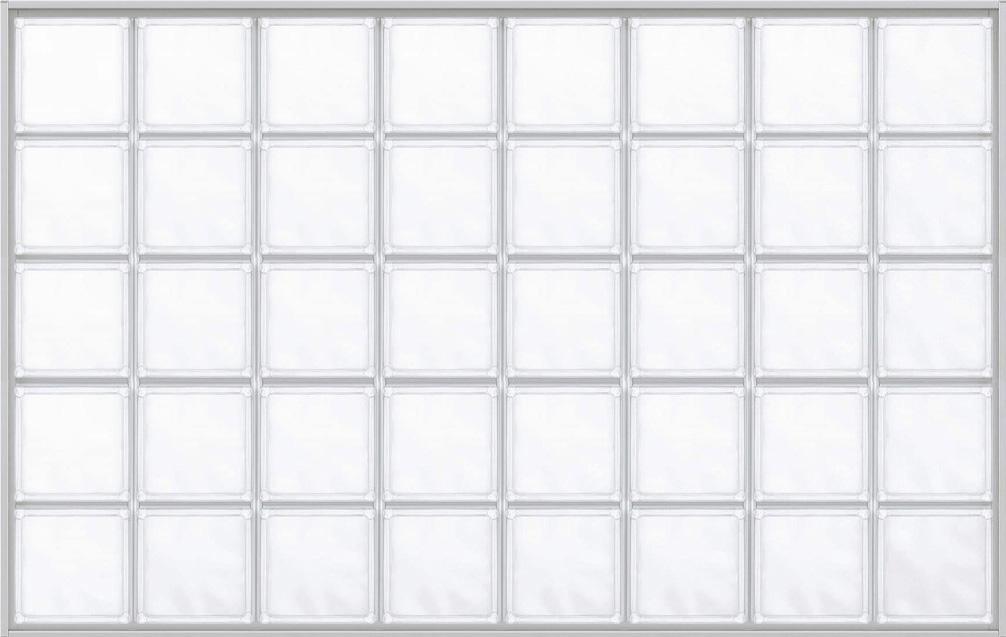 YKKAPアルミインテリア スクリーンパーティション[採光ユニット] アクリルブロックFIX(アルミ枠) 呼称幅131(幅1312mm)ブロック横8列:[幅1312mm×高868mm]【YKK】【室内インテリア】【サッシ】【パーテーション】【パーテイション】【ガラスブロック】【間仕切】【145ミ