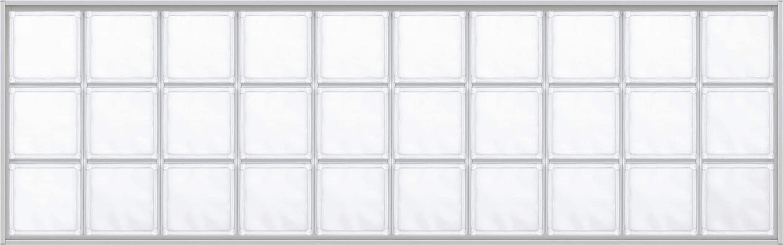 YKKAPアルミインテリア スクリーンパーティション[採光ユニット] アクリルブロックFIX(アルミ枠) 呼称幅161(幅1616mm)ブロック横10列:[幅1616mm×高564mm]【YKK】【室内インテリア】【サッシ】【パーテーション】【パーテイション】【ガラスブロック】【間仕切】【145ミ