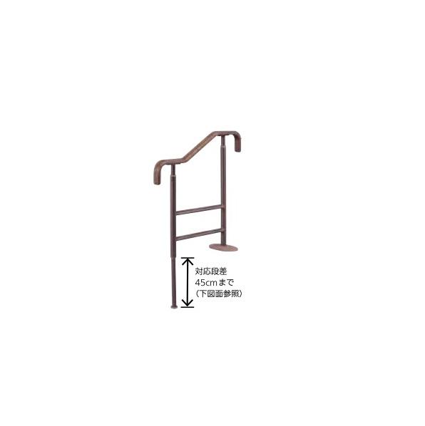 最新人気 上がりかまち手すり:アロン化成 リフォーム用品 上がりかまち用手すり:ノース&ウエスト 室内用手すり バリアフリー 安寿-木材・建築資材・設備