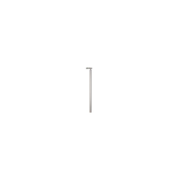 リフォーム用品 バリアフリー 屋外用手すり フリーRレール:マツ六 遮断機式軸側埋め込み式支柱