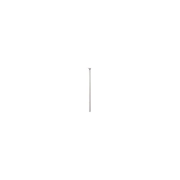 リフォーム用品 バリアフリー 屋外用手すり アプローチEレール:日本化学産業 埋め込み支柱セット