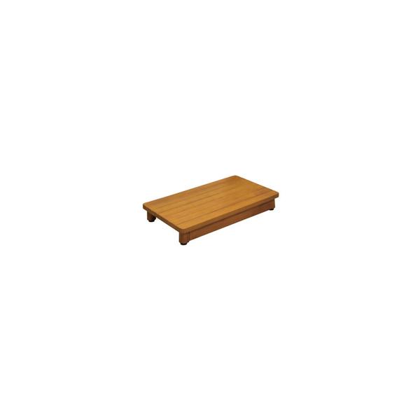 リフォーム用品 バリアフリー 玄関 木製踏台:マツ六 木製踏台 SD 600-90
