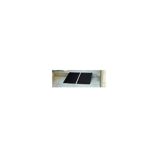 リフォーム用品 バリアフリー 屋外 屋外 スロープ:イーストアイ ボーダブルスロープPVT アルミ1枚板 全長255mm, マツバセマチ:640a79b5 --- makeitinfiji.com