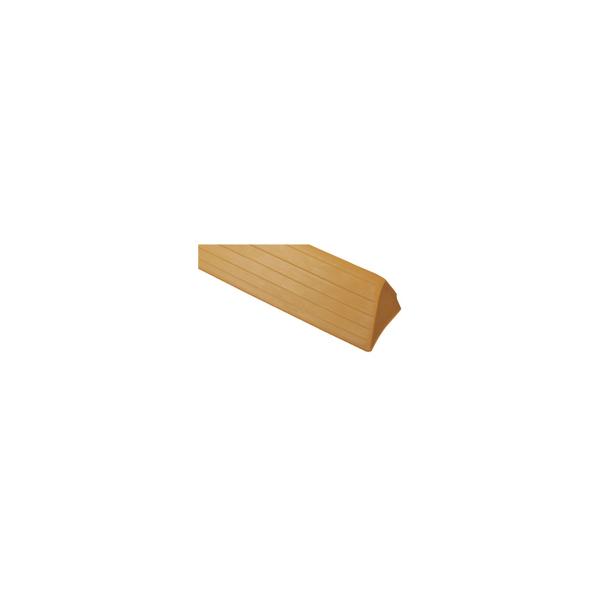 リフォーム用品 バリアフリー 階段・廊下 スロープ:マツ六 エコ段差スロープ R付 W1820