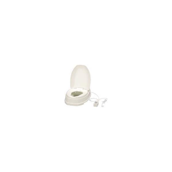 リフォーム用品 バリアフリー トイレ 腰掛・補高便座:アロン化成 サニタリエースOD(暖房便座)措置式