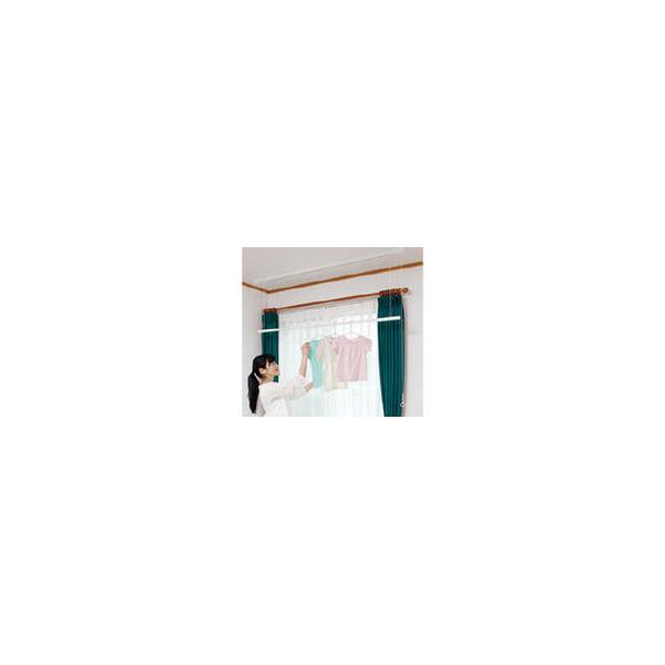 リフォーム用品 建築資材 物干 室内用物干:川口技研 ホスクリーンUTM型(天井面付タイプ)1710mm