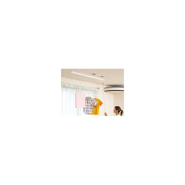 リフォーム用品 建築資材 物干 室内用物干:川口技研 ホスクリーンURB型(天井埋込タイプ)1400mm