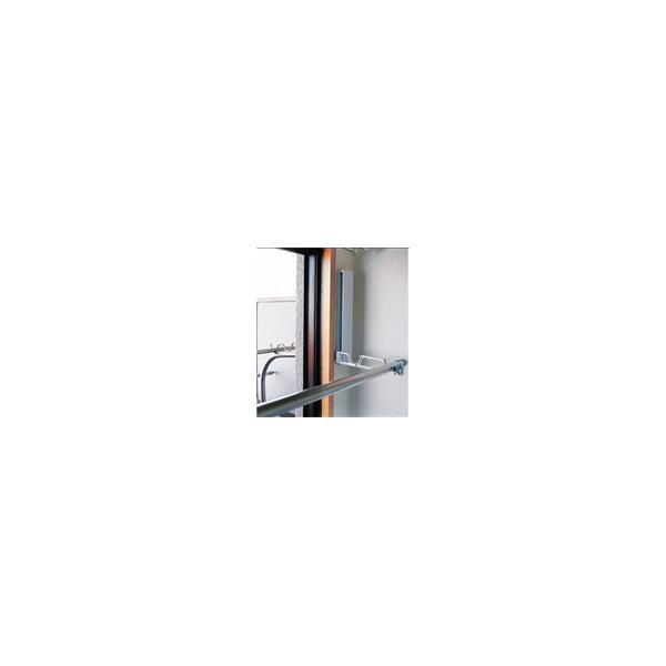 リフォーム用品 建築資材 物干 浴室用物干:神栄ホームクリエイト 室内物干金物(横付型)