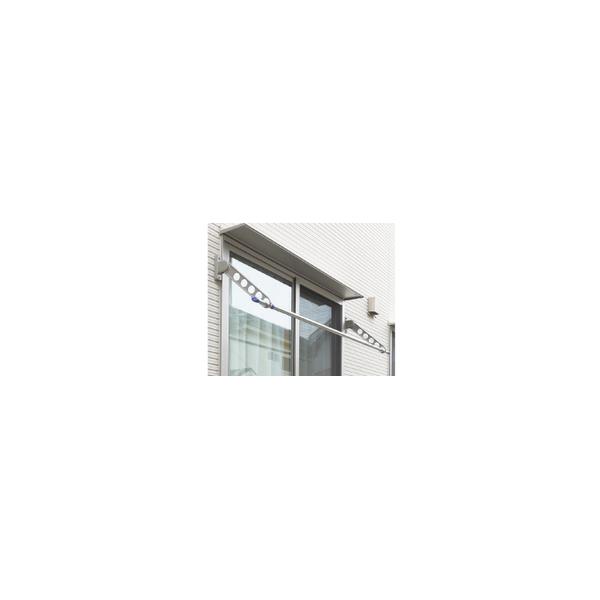 リフォーム用品 建築資材 物干 屋外用物干:川口技研 ホスクリーン RK型 ステンカラー 550