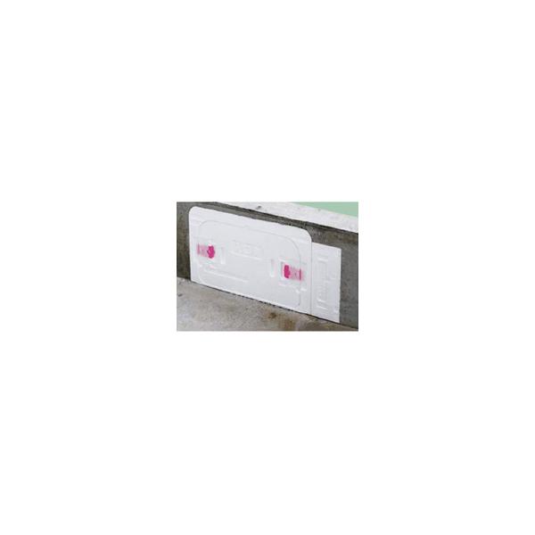 リフォーム用品 建築資材 束・土台パッキン 土台パッキン:Joto キソ点検口 配管対応タイプ 400~500mm
