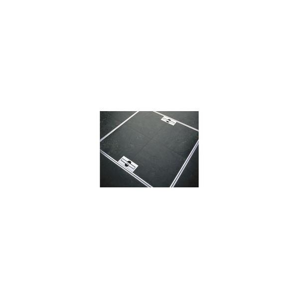 リフォーム用品 建築資材 点検口・床下 天井・壁・床下点検口:ナカ工業 ニューハッチ Pタイル・磁気タイル兼用タイプ 600X600(mm)