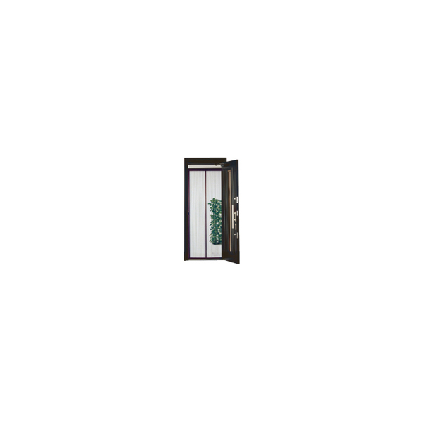 リフォーム用品 金物 窓の金物 網戸用張替部品:川口技研 ノーカットロータリー網戸 高さ192cm