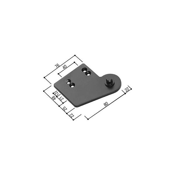 ピボットヒンジ(HH-H-0085)【玄関ドア】【店舗ドア】【ヒンジ】【ピボット】【丁番】【蝶番】【兆番】【特殊丁番】