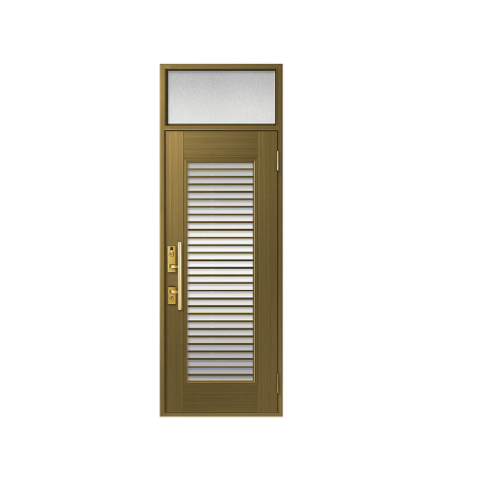LIXIL 玄関ドア クリエラR 片開きランマ付 半外付型:13型[幅818mm×高2330mm]