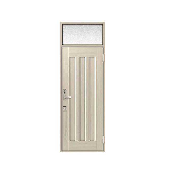 LIXIL 玄関ドア クリエラR 片開きランマ付 内付型:19型[幅790mm×高2330mm]