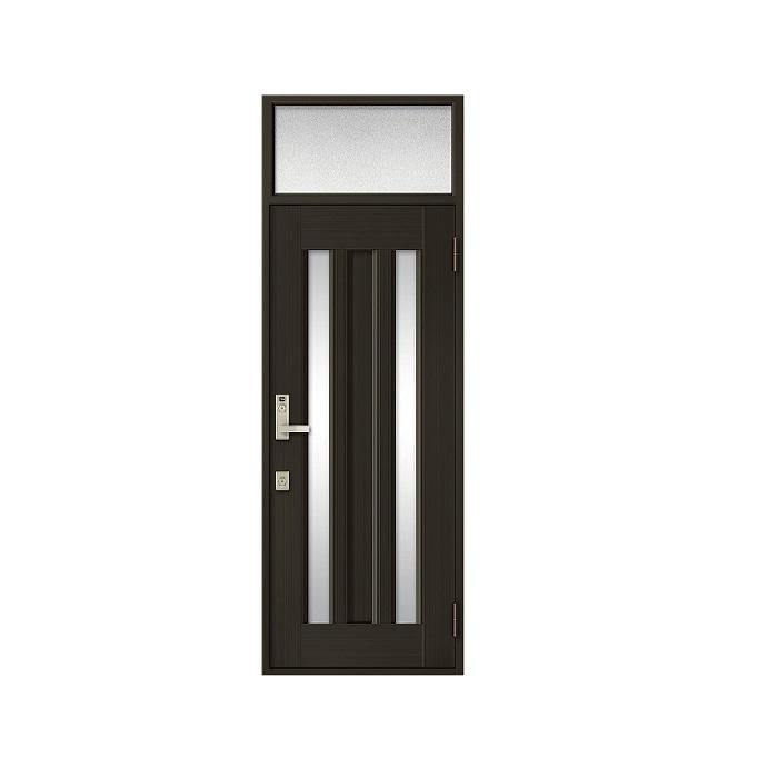 LIXIL 玄関ドア クリエラR 片開きランマ付 内付型:18型[幅790mm×高2330mm]