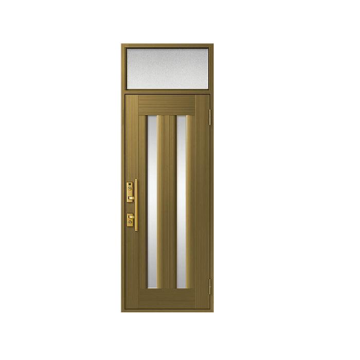 LIXIL 玄関ドア クリエラR 片開きランマ付 内付型:17型[幅790mm×高2330mm]