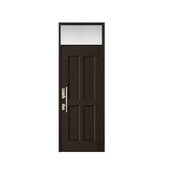 LIXIL 玄関ドア クリエラR 片開きランマ付 内付型:10型[幅790mm×高2330mm]