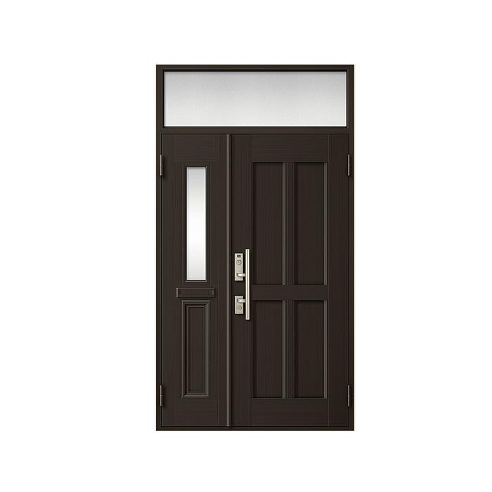 LIXIL 玄関ドア クリエラR 親子ランマ付 半外付型:10型[幅1240mm×高2330mm]