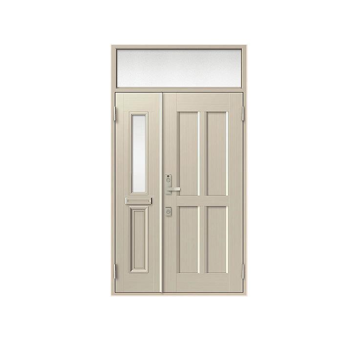 LIXIL 玄関ドア クリエラR 親子ランマ付 半外付型:11型[幅1240mm×高2330mm]