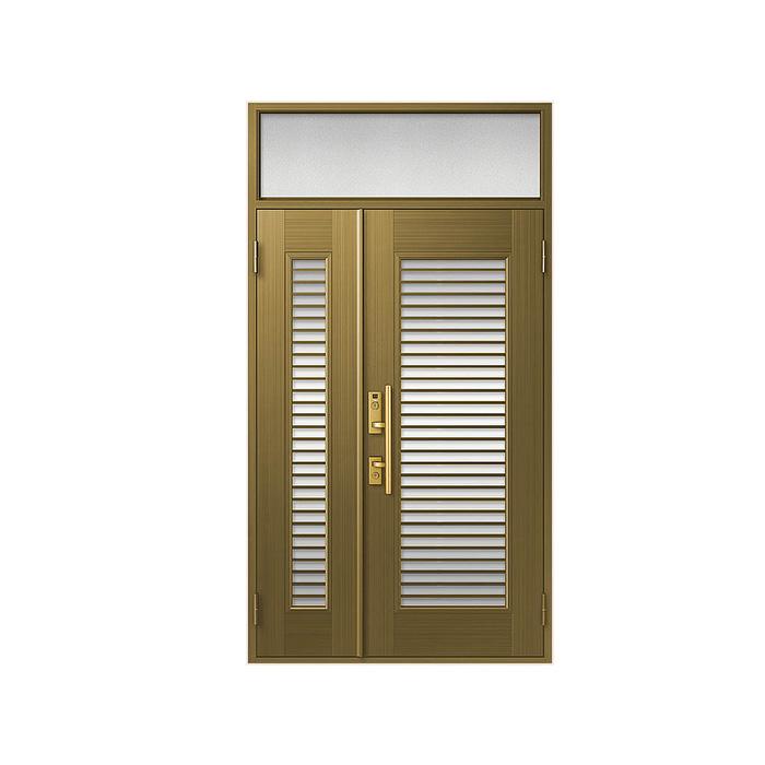 LIXIL 玄関ドア クリエラR 親子ランマ付 半外付型:13型[幅1240mm×高2330mm]