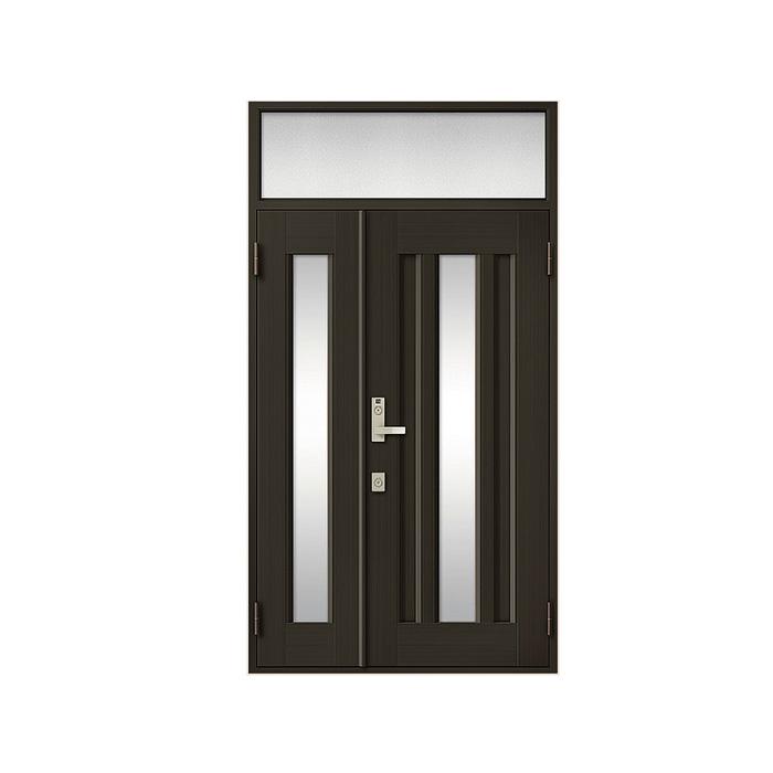 LIXIL 玄関ドア クリエラR 親子ランマ付 半外付型:16型[幅1240mm×高2330mm]