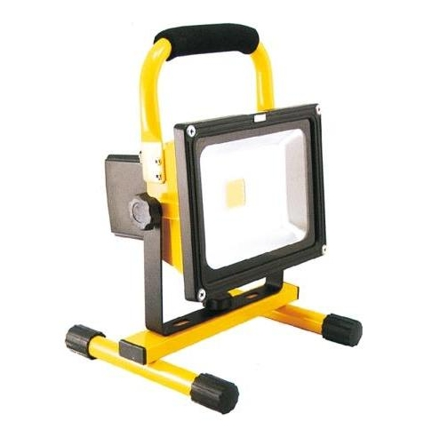 厳選商品 生活家電 LED充電式投光器:GD-F026-3Y(20W) マグネット付