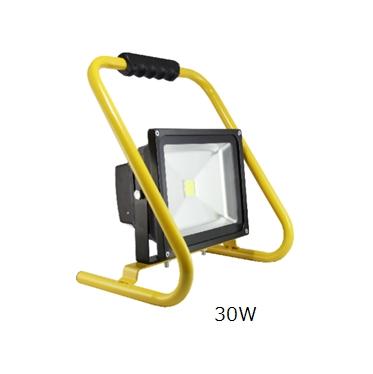 厳選商品 生活家電 LED充電式投光器:三段調光 GD-F030-Y(30W)