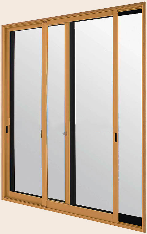 LIXILインプラス 引き違い窓 2枚建[複層ガラス] 透明3mm+透明3mmガラス:[幅1501~2000mm×高1401~1900mm]【トステム】【リクシル】【LIXIL】【引違い】【内窓】【二重窓】【樹脂製内窓】【二重サッシ】