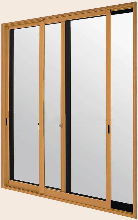 [福井県内のみ販売商品]LIXILインプラス 引き違い窓 2枚建[複層ガラス] 遮熱グリーン3mm+透明3mmガラス:[幅2001~3000mm×高1901~2450mm]
