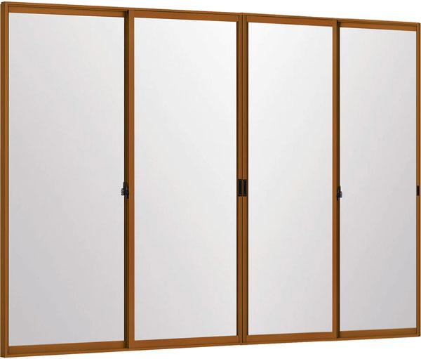 LIXILインプラス 引き違い窓 4枚建[単板ガラス] 4mm不透明ガラス:[幅2001~3000mm×高1901~2450mm]【トステム】【リクシル】【LIXIL】【引違い】【内窓】【二重窓】【樹脂製内窓】【二重サッシ】