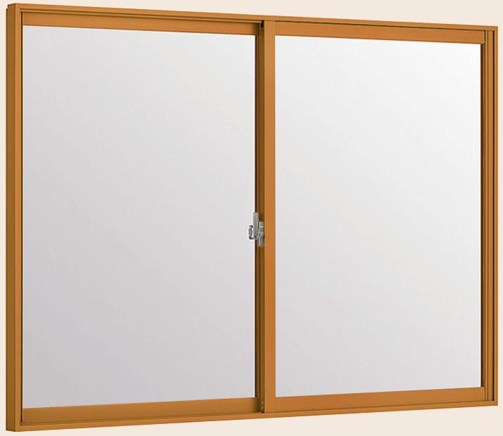 LIXILインプラス 引き違い窓 2枚建[複層ガラス] 透明3mm+和紙調3mm組子無ガラス:[幅2001~2500mm×高601~1000mm]【トステム】【リクシル】【LIXIL】【引違い】【内窓】【二重窓】【樹脂製内窓】【二重サッシ】