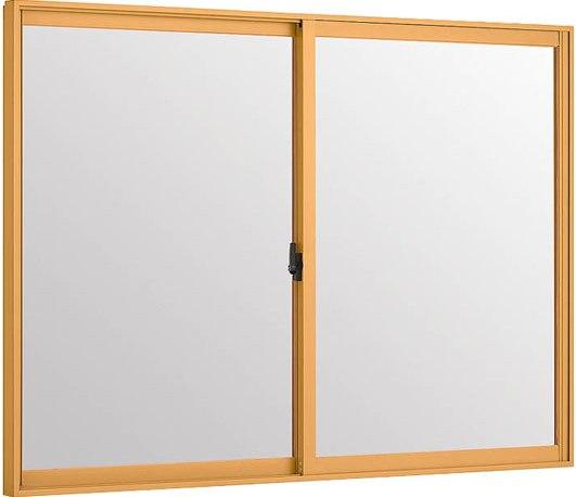 LIXILインプラス 引き違い窓 2枚建[単板ガラス] 和紙調3mm組子無ガラス:[幅2001~2500mm×高601~1000mm]【トステム】【リクシル】【LIXIL】【引違い】【内窓】【二重窓】【樹脂製内窓】【二重サッシ】