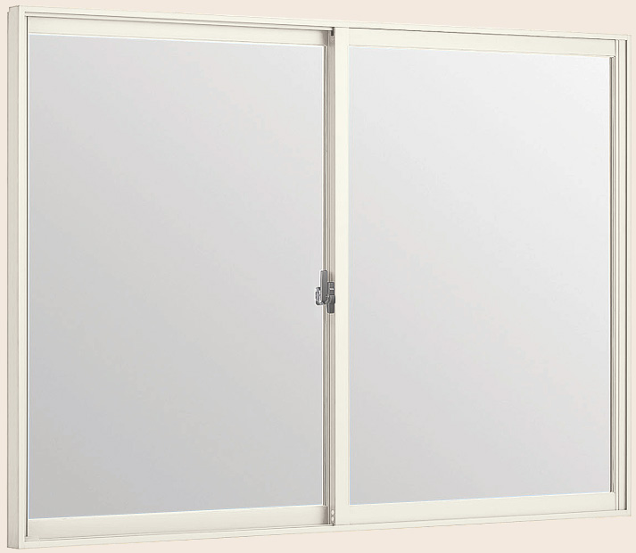 LIXILインプラス 引き違い窓[浴室仕様] ユニットバス納まり[複層ガラス] ブラインドインガラス:[幅1001~1500mm×高1001~1300mm]