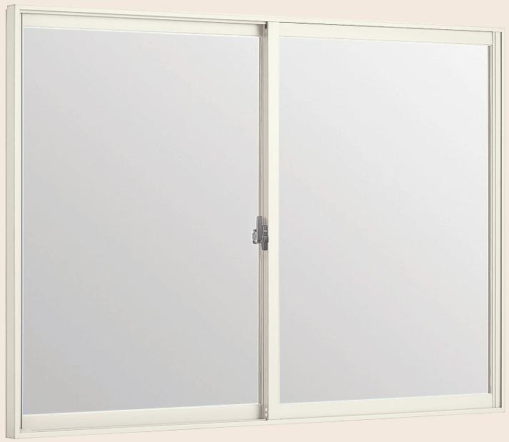 LIXILインプラス 引き違い窓[浴室仕様] ユニットバス納まり[単板ガラス] 不透明4mmガラス:[幅1501~1690mm×高1001~1300mm]