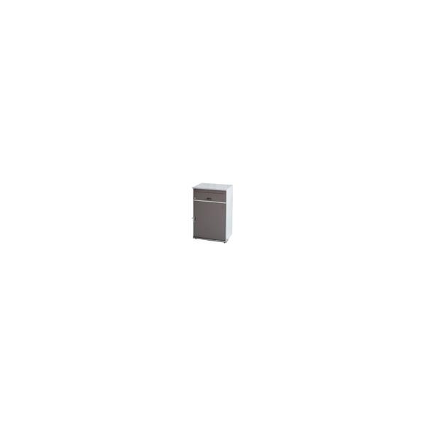リフォーム用品 建築資材 宅配ボックス・ポスト 宅配ボックス:KGY工業 リシムワイド ブラウン