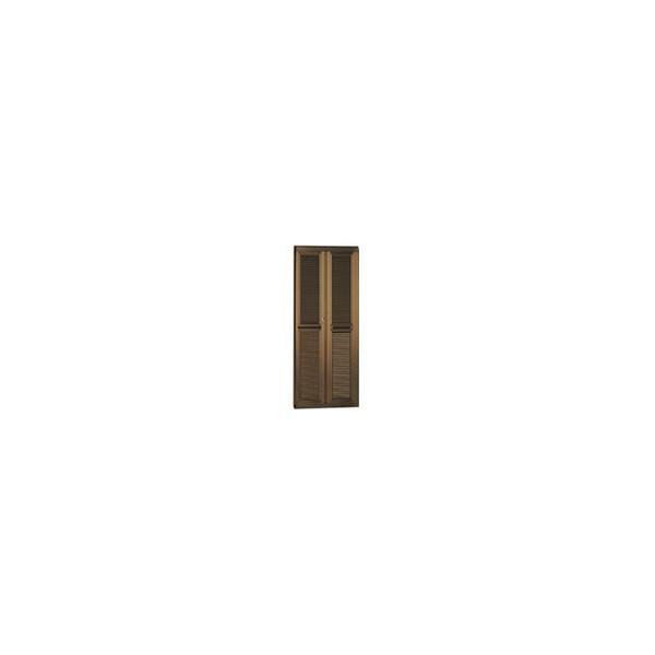 リフォーム用品 金物 窓の金物 玄関網戸:オーバル ナイスウィンズドア 製品高さ2300mm ブロンズ