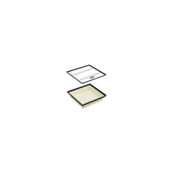 リフォーム用品 建築資材 点検口・床下 床下収納庫:ダイケン 床下収納庫PKCM型 気密タイプ 浅型 シルバー