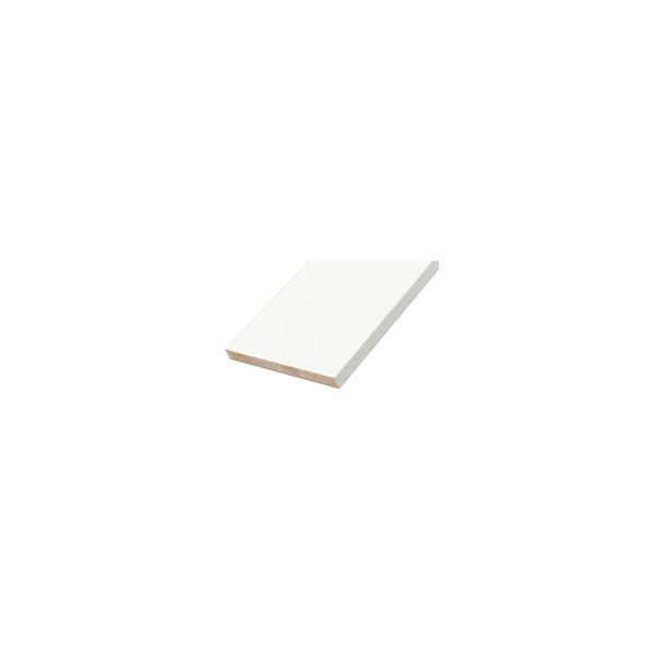リフォーム用品 収納・内装 棚板 棚板:南海プライウッド アートランバーOタイプ 厚20×450×1810 クリアホワイト