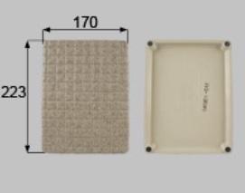 LIXIL補修用部品 住器用部品 バスルーム 床 排水部品:化粧排水蓋[RTGJ001]【リクシル】【TOSTEM】【トステム】【排水口】【蓋】【フタ】