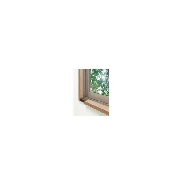 リフォーム用品 補修・接着・テープ 補修材 補修テープ・カバー:Joto リフォーム用窓枠化粧カバー 2.2m 2本入 30mmタイプ ダーク