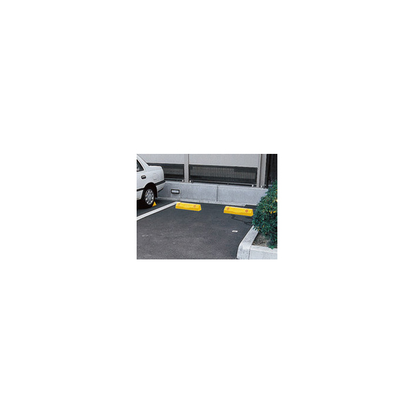リフォーム用品 補修・接着・テープ 補修材 歩道上がり・カーストッパー:神栄ホームクリエイト カーストッパー 黒