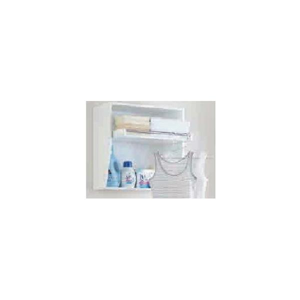 リフォーム用品 水まわり 洗面所 洗面所まわり:オークス フレクリーン ランドリーラック 500?600?300mm