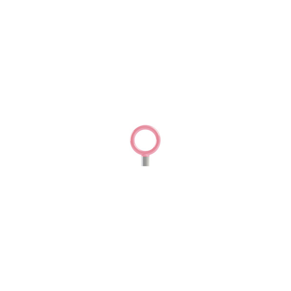 リフォーム用品 バリアフリー 屋外用手すり アプローチEレール:サンポール サポートピラー 固定式 ピンク