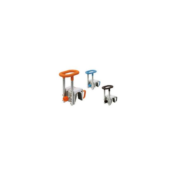 リフォーム用品 バリアフリー 浴室・洗面所 入浴介護用品:パナソニック 入浴グリップ[ユクリア] 200 オレンジ