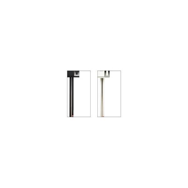 リフォーム用品 建築資材 宅配ボックス・ポスト デザインポスト:福彫 ウィスト専用スタンド ブラック