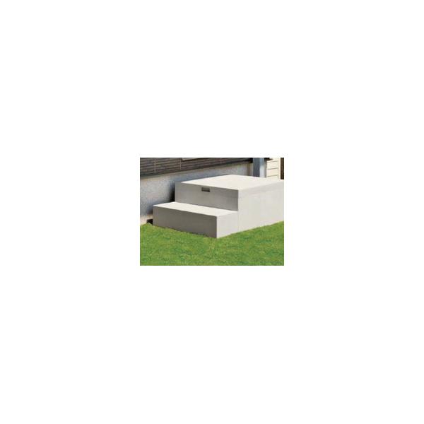 リフォーム用品 建築資材 外まわり 屋外用ステップ・柱受金物:Joto ハウスステップ6040 収納庫なし