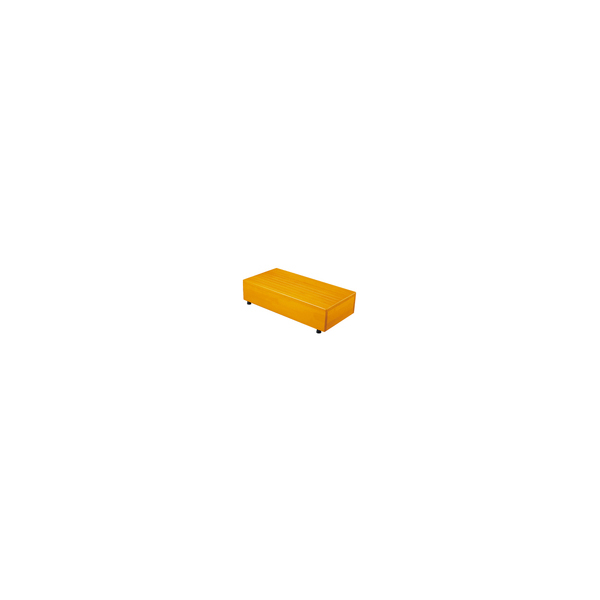 リフォーム用品 バリアフリー 玄関 木製踏台:シモヤマ 木製踏み台 600×300×150(mm) ブラウン