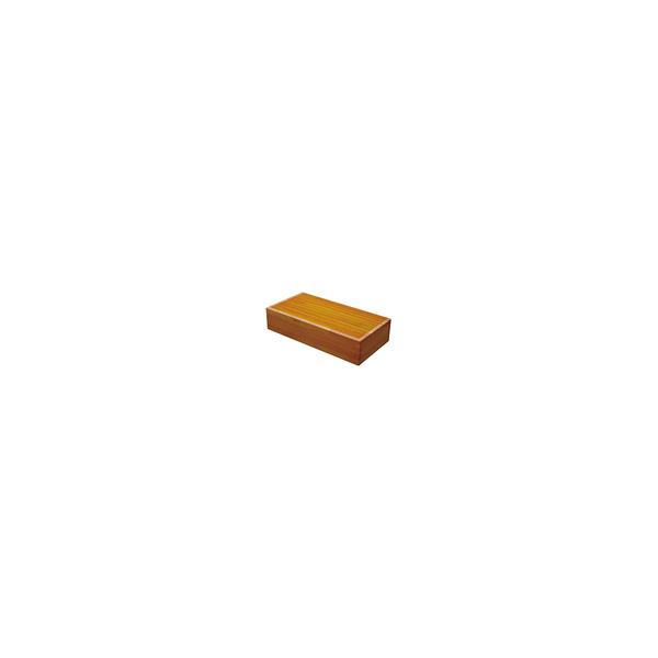 リフォーム用品 バリアフリー 玄関 木製踏台:シモヤマ 木製踏み台 600×300×150(mm) ライトオーク(ツートン)
